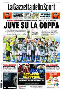 La Gazzetta dello Sport – 21 gennaio 2021