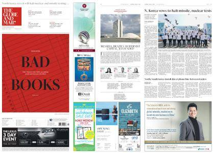 The Globe and Mail – April 21, 2018