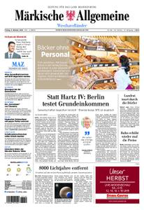 Märkische Allgemeine Westhavelländer - 05. Oktober 2018