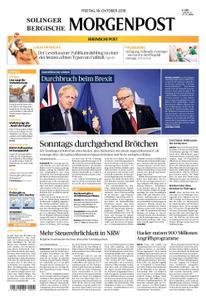 Solinger Morgenpost – 18. Oktober 2019