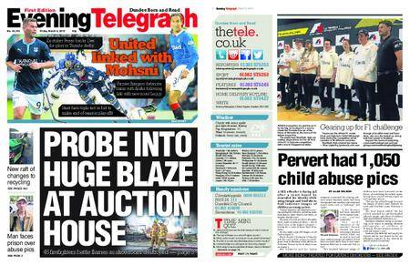 Evening Telegraph First Edition – March 09, 2018