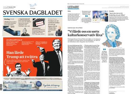 Svenska Dagbladet – 27 oktober 2018