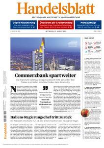 Handelsblatt - 21. August 2019