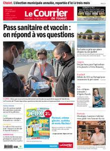 Le Courrier de l'Ouest Angers – 21 juillet 2021