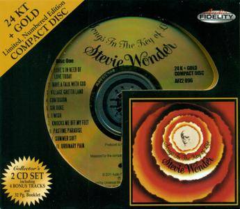 Stevie Wonder - Songs In The Key Of Life (1976) [2011, Audio Fidelity AFZ 2 096]