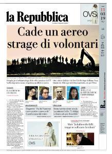 la Repubblica - 11 Marzo 2019
