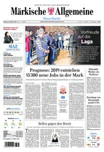 Märkische Allgemeine Dosse Kurier - 08. Oktober 2018