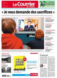 Le Courrier de l'Ouest Angers – 17 mars 2020