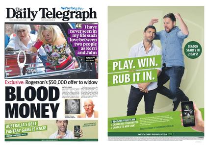 The Daily Telegraph (Sydney) – March 12, 2019