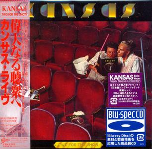 Kansas - Two For The Show (1978) [2CD, Epic EICP 20076/7, Japan]