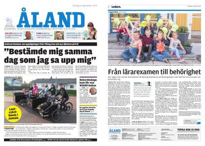 Ålandstidningen – 11 september 2019