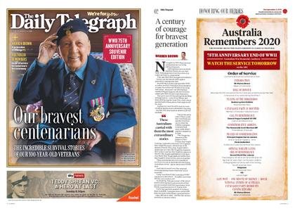 The Daily Telegraph (Sydney) – August 14, 2020