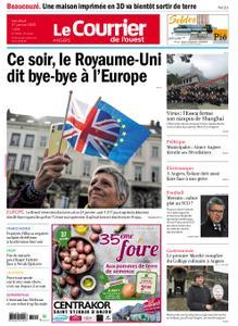 Le Courrier de l'Ouest Angers – 31 janvier 2020