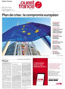 Ouest-France Édition France – 11 avril 2020