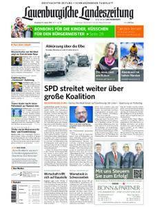 Lauenburgische Landeszeitung - 13. Januar 2018