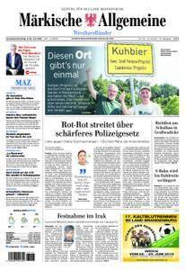 Märkische Allgemeine Westhavelländer - 09. Juni 2018