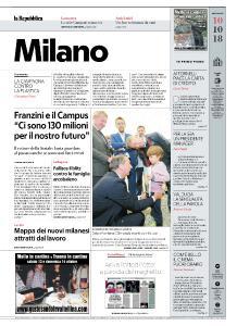 la Repubblica Milano - 10 Ottobre 2018