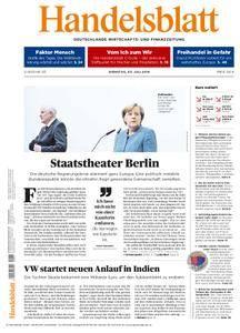 Handelsblatt - 03. Juli 2018