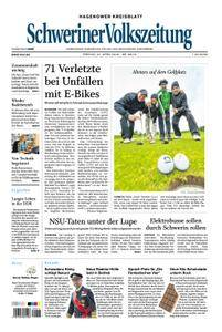 Schweriner Volkszeitung Hagenower Kreisblatt - 27. April 2018