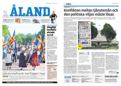 Ålandstidningen – 10 juni 2019