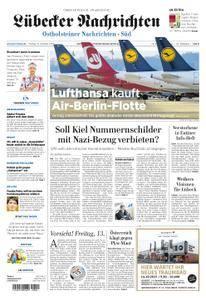 Lübecker Nachrichten Ostholstein Süd - 13. Oktober 2017