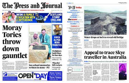 The Press and Journal Moray – June 11, 2018