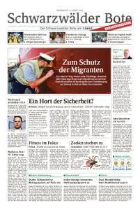 Schwarzwälder Bote Blumberg - 16. August 2018