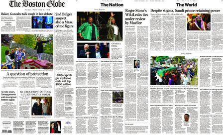 The Boston Globe – November 02, 2018