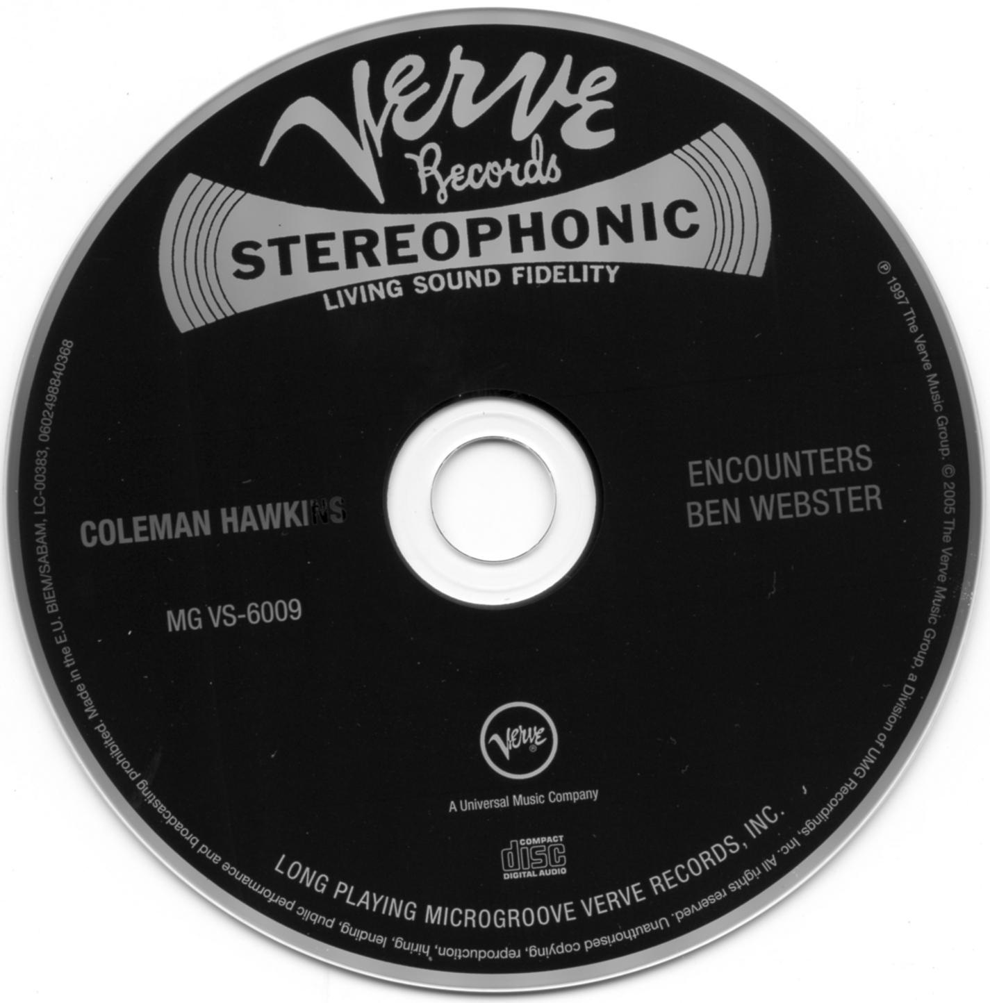 Ben Webster & Coleman Hawkins - Coleman Hawkins Encounters Ben Webster (1957) [Remastered 2005]