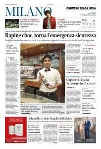 Corriere della Sera Milano - 28 Aprile 2018