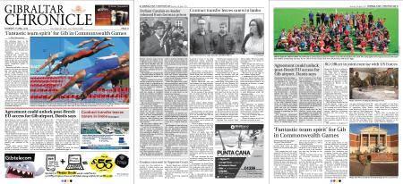 Gibraltar Chronicle – 07 April 2018