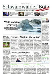 Schwarzwälder Bote Hechingen - 27. Dezember 2017
