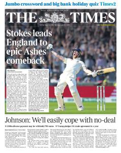 The Times - 26 August 2019