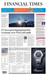 Financial Times Middle East - November 27, 2020
