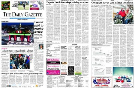 The Daily Gazette – December 25, 2019