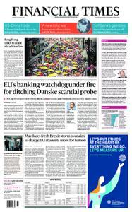 Financial Times UK – April 29, 2019