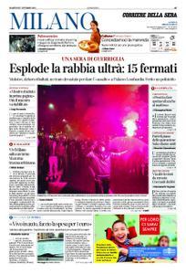 Corriere della Sera Milano – 27 ottobre 2020