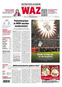 WAZ Westdeutsche Allgemeine Zeitung Oberhausen-Sterkrade - 20. Dezember 2018