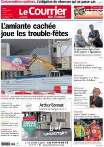 Le Courrier de l'Ouest Angers - 10 avril 2018