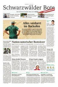 Schwarzwälder Bote Hechingen - 31. Juli 2018