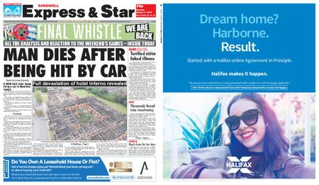 Express and Star Sandwell Edition – August 05, 2019