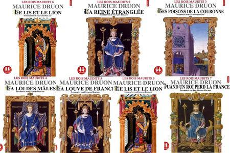 "Maurice Druon, ""Les rois maudits"", 7 volumes (repost)"