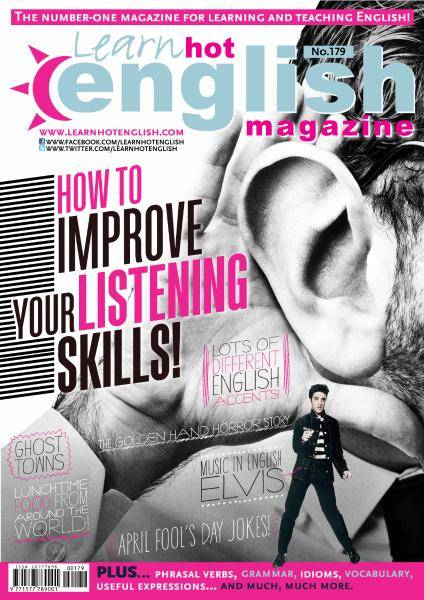 Learn Hot English - Issue 179 - April 2017