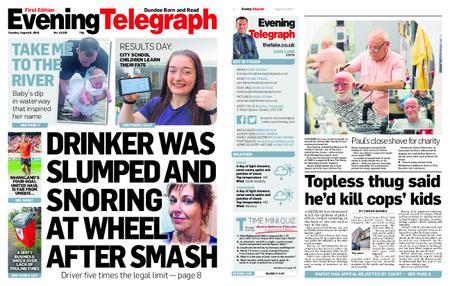 Evening Telegraph First Edition – August 06, 2019