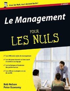 """Bob Nelson, Peter Economy, """"Le Management pour les Nuls"""", 2ème éd. (repost)"""
