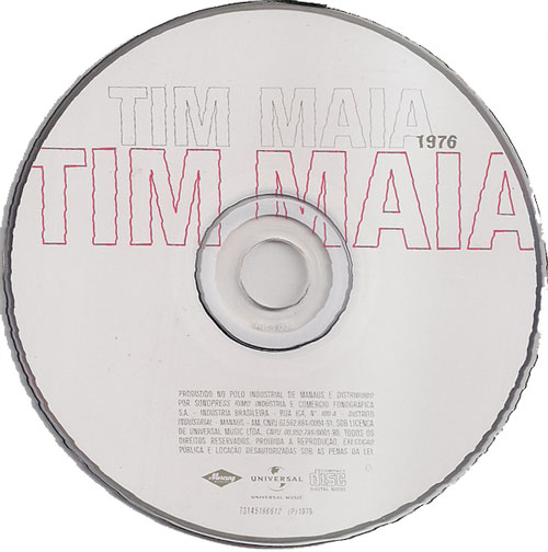Tim Maia - s/t (1976) {2010 Mercury/Universal Music Brazil}