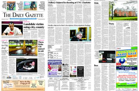 The Daily Gazette – May 01, 2019