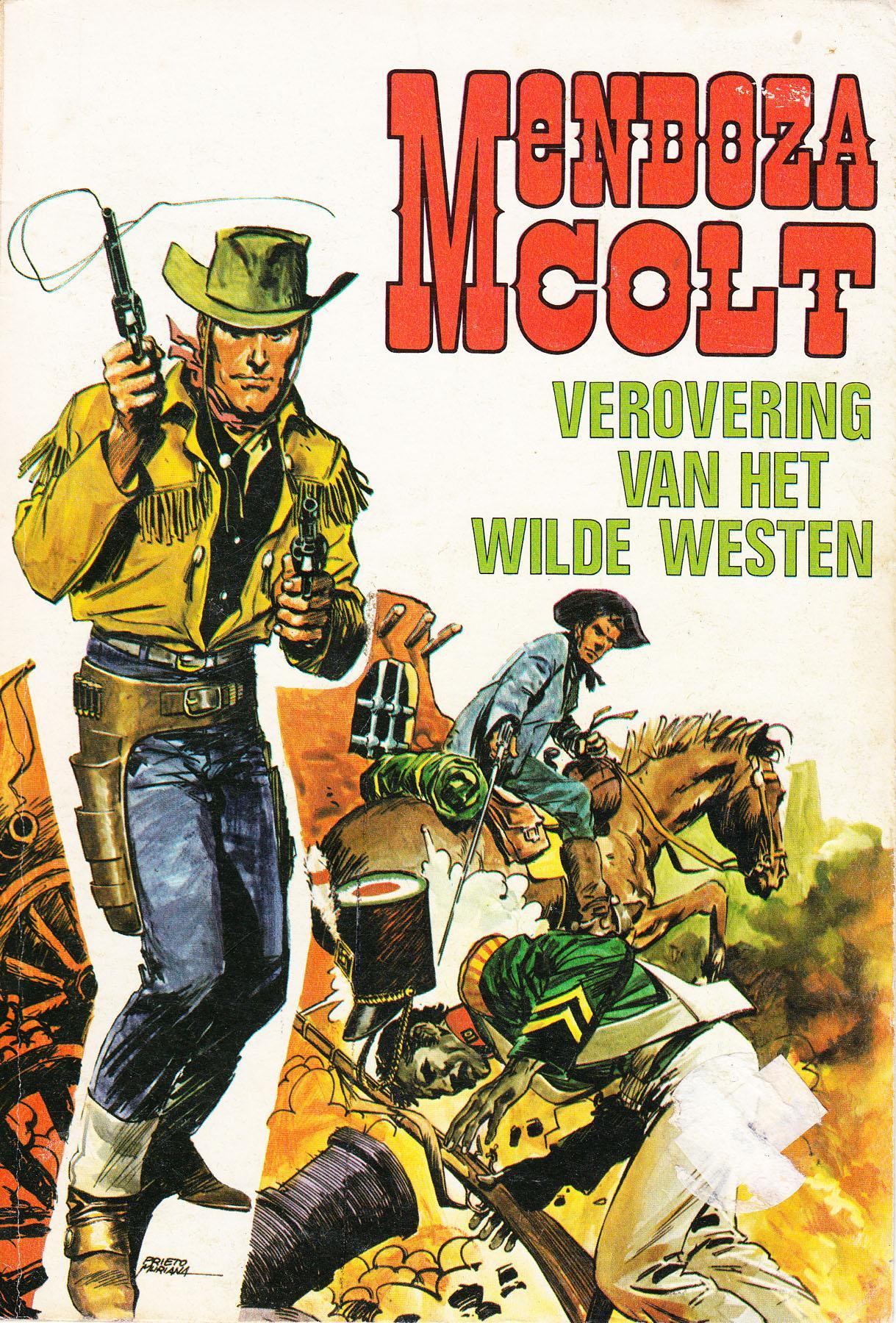 Mendoza Colt/Mendoza Colt - 05 - 'Revolver' Kennedy