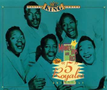 "The ""5"" Royales - Monkey Hips & Rice (1994) {2CD Set Rhino R2 71546 rec 1952-1962}"