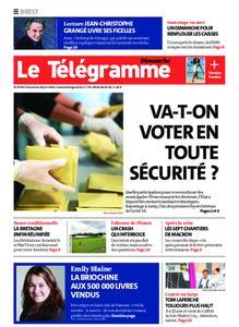 Le Télégramme Brest Abers Iroise – 28 juin 2020